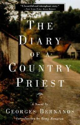 The Diary of a Country Priest: A Novel - Paperback By Bernanos, Georges - GOOD