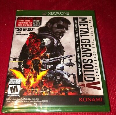 Metal Gear Solid V: Definitive Edition (Microsoft Xbox One, 2016) NEW sealed