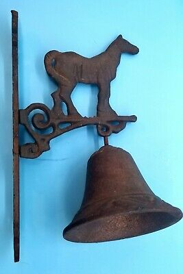 VTG Cast Iorn Door Bell with Horse