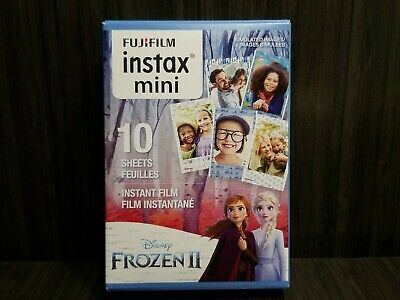 Fujifilm Instax Mini Frozen 2 Instant Film, 10 Exposures/Sheets. New
