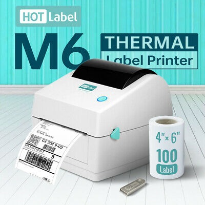 【Simple & Durable】Label Printer Thermal Shipping Address Barcode Label Printer