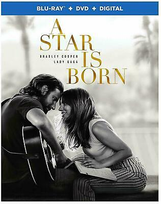 A Star is Born  Blu Ray + DVD + Digital & Slipcover BRAND New Sealed