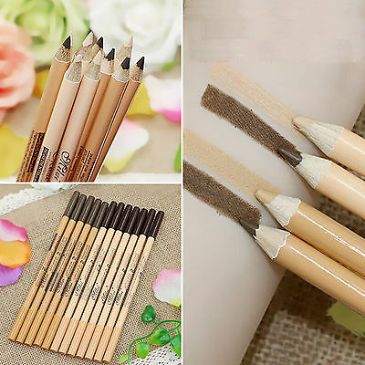 12 Double Head Eyeliner/Eyebrow Pencil & Concealer Function - Beauty Make up Set