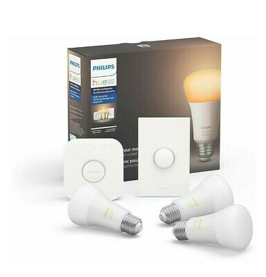 Philips hue white ambiance smart bulb starter kit