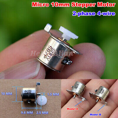 DC 5V Micro Mini 10MM 2-Phase 4-Wire Stepping Motor Stepper Motor Digital Camera