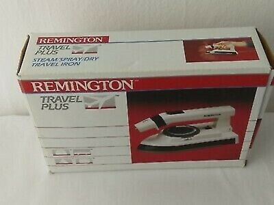 NEW REMINGTON TRAVEL PLUS Iron Model TL216 Steam/Spray/Dry Portable Foldable