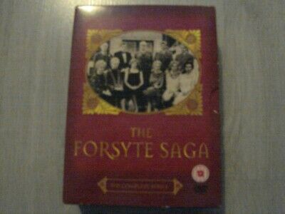 ( THE FORSYTE SAGA THE COMPLETE SERIES COLLECTION )  - 7 DISC DVD boxset
