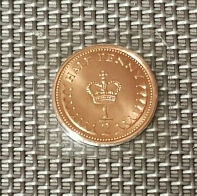 1984 Brilliant uncirculated 1/2p Coin, Half Pence,Bunc/Unc/Bu, Unreleased.
