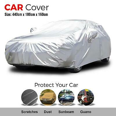Universal Car Cover Waterproof Outdoor Breathable Rain UV Protection Large Size