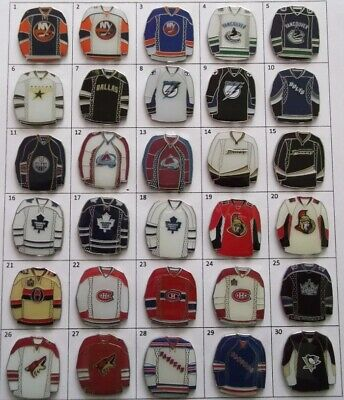 Different Teams Nhl Hockey Jersey Logo Pin (Your Choice) # G803