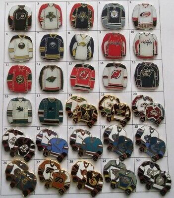 Different Teams Nhl Hockey Jersey Logo Pin (Your Choice) # G804