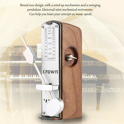 Portable Universal 11cm Height Mechanical Metronome for Piano Guitar Ukulele M6P