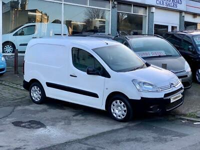 2015 64 Citroen Berlingo 625 Enterprise 1.6 Hdi No Vat White