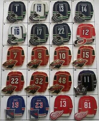 Different Teams Nhl Hockey Jersey Logo Pin (Your Choice) # G809