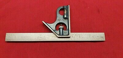Vintage Rabone Combination Square Metric & Imperial Fairly Good Condition