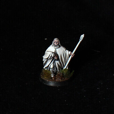 Gandalf the White LOTR Lord of The Rings Games Workshop Miniatures PRO PAINTED