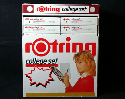 ----- ROTRING COLLEGE SET \ ISOGRAPH & TIKKY SPECIAL 0,5 --- VINTAGE 90's STOCK