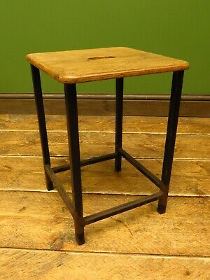 Vintage School Stool from Torquay