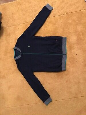 Boys Ted Baker zip top jacket reversible age 11 to 12 years