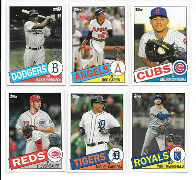 2020 Topps 1985 35th Anniversary Insert SP - PICK FROM LIST COMPLETE YOUR SET
