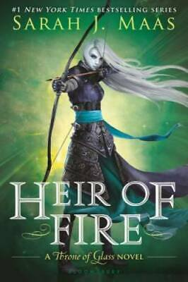 Heir of Fire (Throne of Glass) - Paperback By Maas, Sarah J. - VERY GOOD