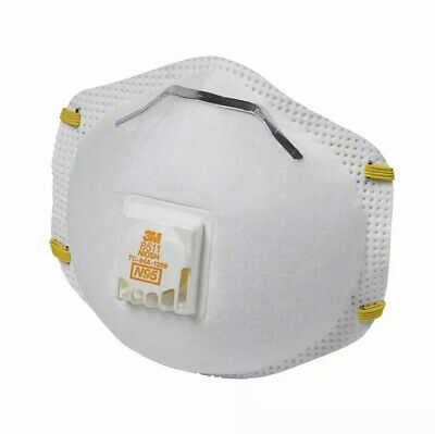 3M N95 Mask Respirator Cool Flow 8511 with Exhalation Valve Sealed 1 Mask N95 口罩