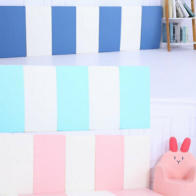 Baby Safety Play Wall Pad Protection Bumper Thick Padding for Wall 10pcs