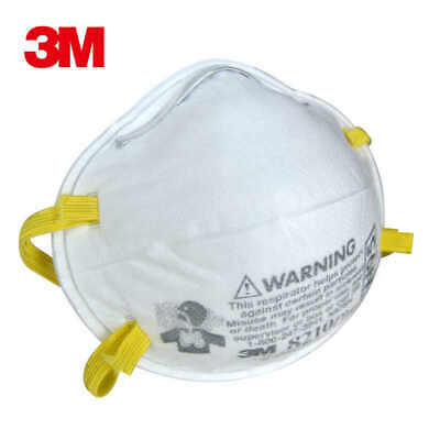 3M N95 Mask (2 Count Per Pack) Respirator 8210 Particulate Protection 口罩 密封2个装