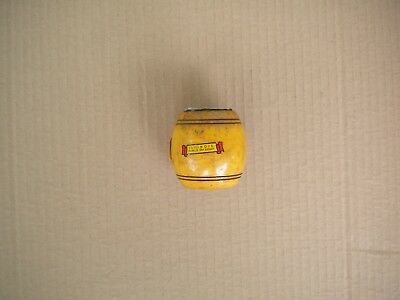 Vintage 1960s Wooden Barrel Advertising Savings Bank Texas Illinois