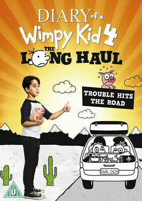 Diary Of A Wimpy Kid 4 The Long Haul DVD New Sealed