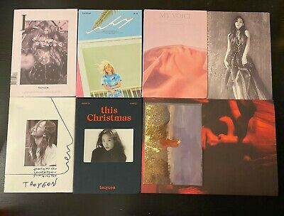 (Opened/No Pc) Girls Generation Snsd Taeyeon Solo Albums (Read Description)