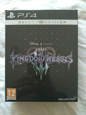 Kingdom Hearts III (3) Deluxe Edition PS4 PAL PLAY STATION 4