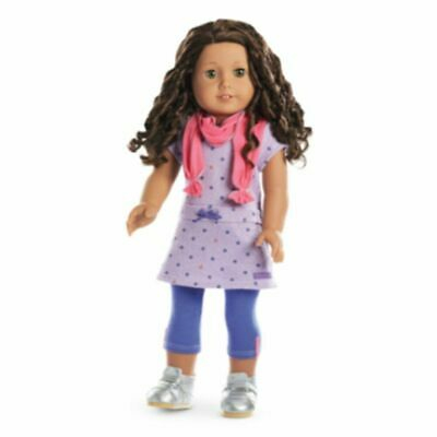 American Girl Doll Truly Me RECESS READY OUTFIT: Dress, Leggings, 2 Pair Shoes