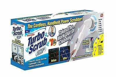 Turbo Scrub 360 Cordless, Rechargeable Floor Scrubber and Tile Cleaning Machine
