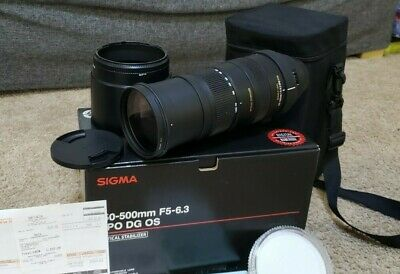 Sigma AF 150-500mm F5-6.3 DG OS HSM APO for Canon