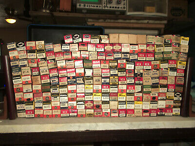 Huge Lot Of 196 Tubes. *Make An Offer!* Mostly  6V. Rca, Tungsol, Sylvania, Ge +