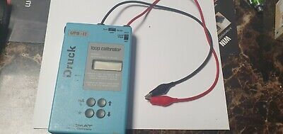 Unomat Druck UPS-II Current Loop Calibrator with case