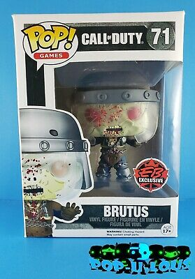 Funko Pop Games Call Of Duty #71 Brutus Ebgames Exclusive