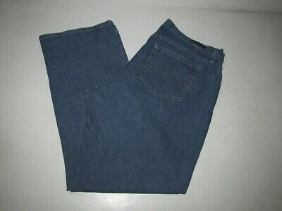 """Womens Lee Relaxed Fit Stretch Jeans. Size 18L Blue. 32"""" Inseam."""