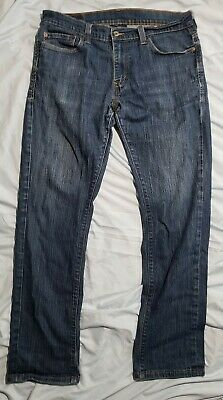 Levis mens 511 36 x 32 red tab Jean's dark wash blue skinny