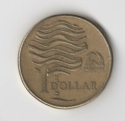 1993 Australian $1 One Dollar Coin - Landcare Australia       ***Free Post***