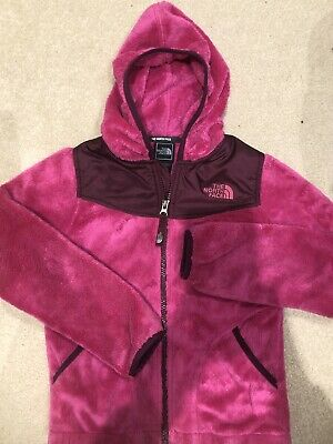 Girls North Face Fleece Jacket Size 7/8
