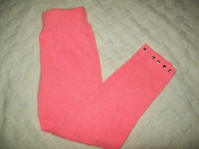 Extremely Me Girls Leggings Sz M 7 8 Neon Pink Studed Hem Pullon casual school