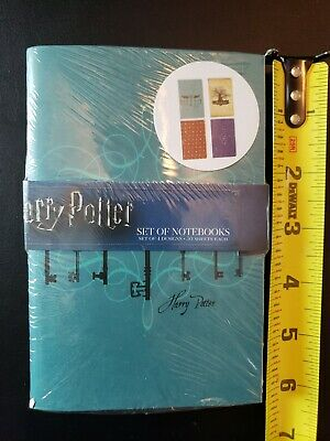 NEW Harry Potter Loot Crate Wizarding World 4 Pack Journal Notebook Diary