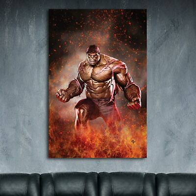 Marvel The Hulk HD Canvas Print Paintings Home Decor Wall Art Pictures Posters