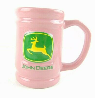 John Deere Encore Coffee Mug Pink