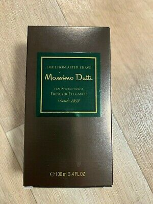 Emulsion After Shave Massimo Dutti 100 Ml  . Descatalogado.discontinued