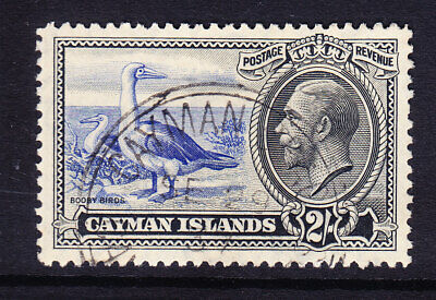 CAYMAN ISLANDS George V 1935 SG105 2/- Red Footed Booby - fine used cat £38