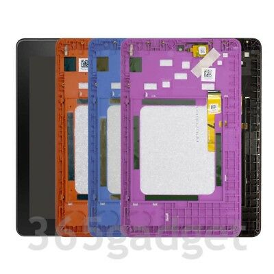 US LCD Screen Digitizer Assembly Frame For Amazon Kindle Fire 7 5th 2015 SV98LN