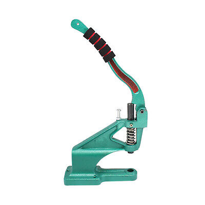 Hand Press Green Machine with Rubber Foam Grip Handle for DIY Fashion Accessory